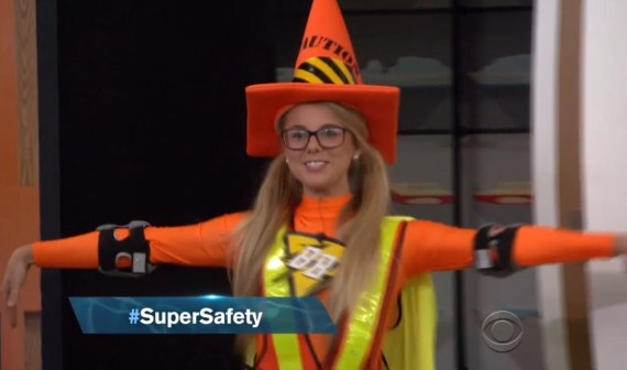 Big Brother 18-Nicole's Super Safety costume