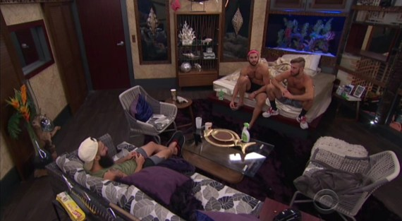 Big Brother 18-Paulie Calafiore, Paul Abrahamian, Victor Arroyo