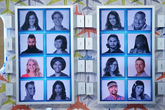 Big Brother 18 Final Four Memory Wall (CBS)