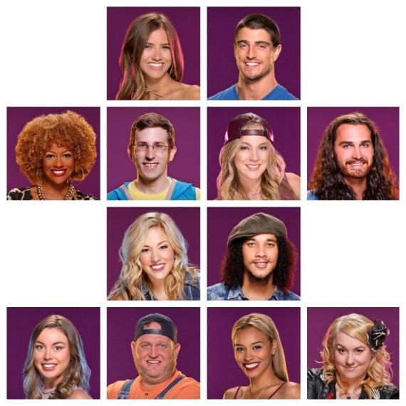 Big Brother Over the Top Cast (CBS)
