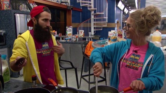 Big Brother 18-Nicole Franzel and Paul Abrahamian