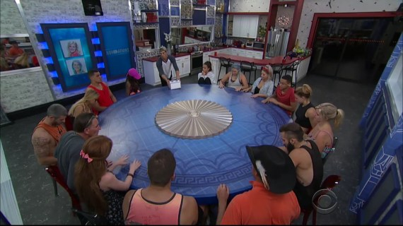 Big Brother 19 Week 1 Nomination Ceremony