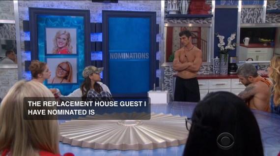 Big Brother 19 Nomnation Ceremony Week 1