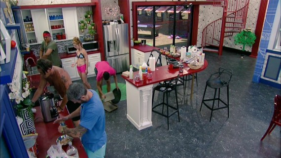 Big Brother 19 Kitchen