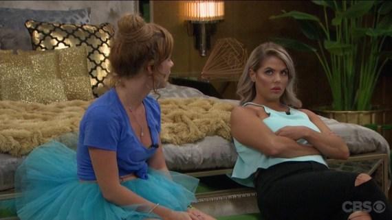 Big Brother Elena Davies and Raven Walton