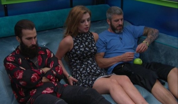 Big Brother 19 Paul Abrahamian, Raven Walton, and Matt Clines