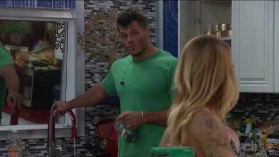 Big Brother 19 Mark Jansen and Christmas Abbott