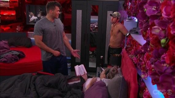 Big Brother 19 Elena Davies, Mark Jansen, and Cody Nickson