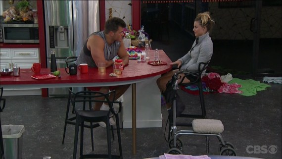 Big Brother 19 Christmas Abbott and Paul Abrahamian