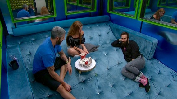 Big Brother 19 Paul Abrahamian, Matt Clines, and Raven Walton