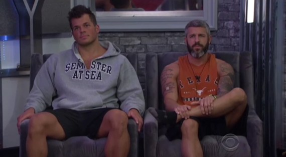 Big Brother 19 Mark Jansen and Matt Clines