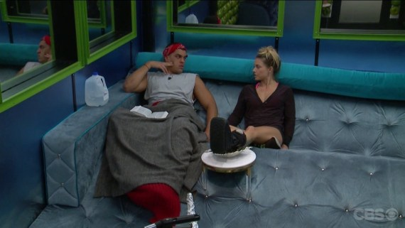 Big Brother 19 Josh Martinez and Christmas Abbott