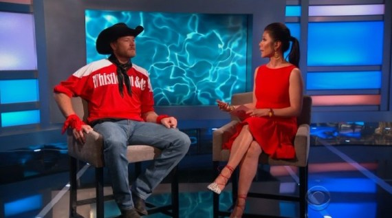 Big Brother 19 Jason Dent and Julie Chen