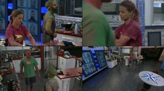 Big Brother 19 Final 3 Head of Household: Christmas Abbott, Paul Abrahamian, and Josh Martinez