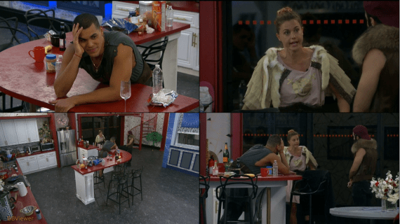 Big Brother 19 Final 3, Christmas Abbott, Paul Abrahamian, Josh Martinez