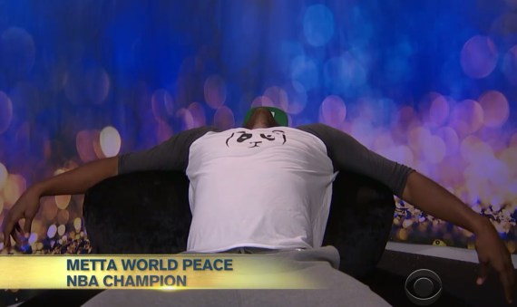 Celebrity Big Brother Metta World Peace Wants Out