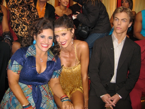 Dancing with the Stars Shannon Elizabeth and Marissa Jaret Winokur Celebrity Big Brother