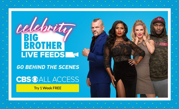 Celebrity Big Brother Promo Banner