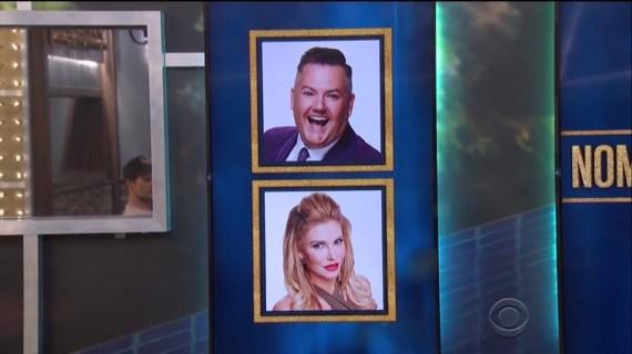 Celebrity Big Brother Ross Mathews and Branndi Glanville