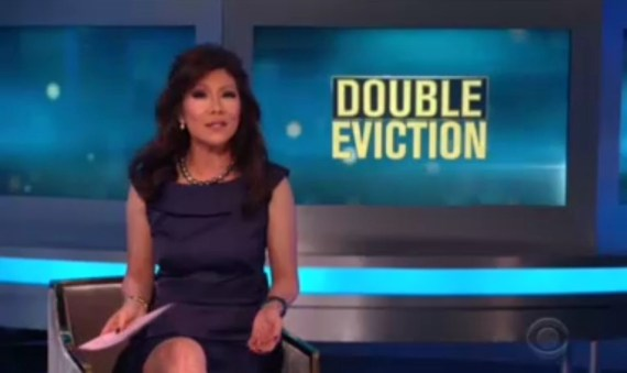Celebrity Big Brother Double Eviction Julie Chen