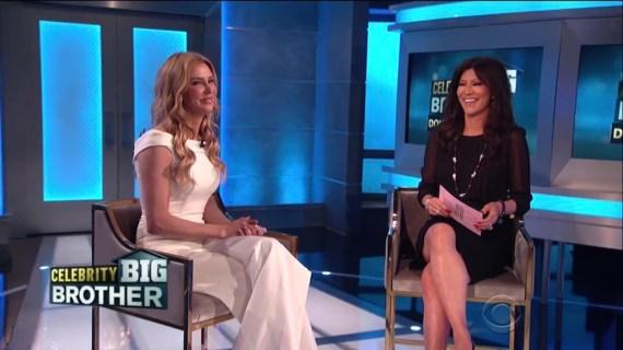 Celebrity Big Brother Brandi Glanville's Eviction