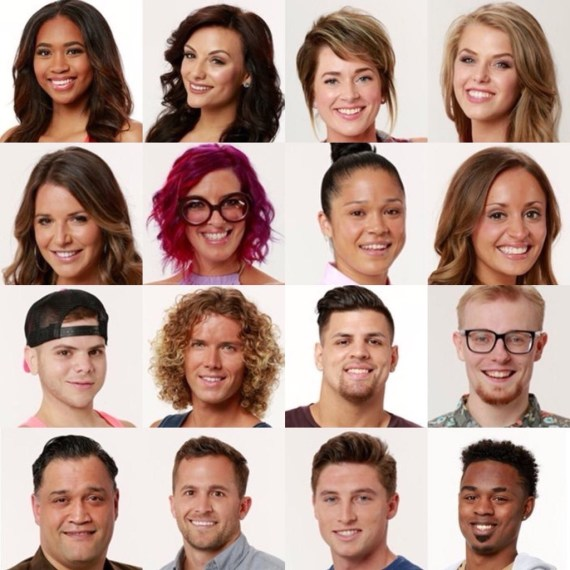 Big Brother 20 Spoilers-Cast