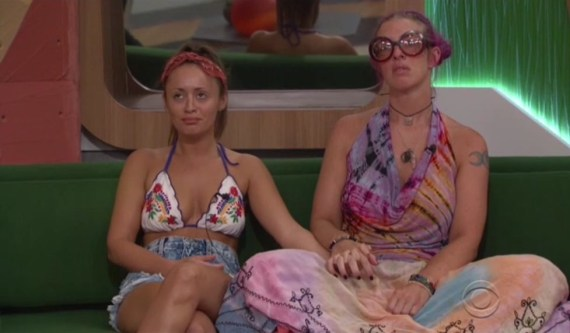 "Big Brother 20-Angie ""Rockstar"" Lantry and Kaitlyn Herman"