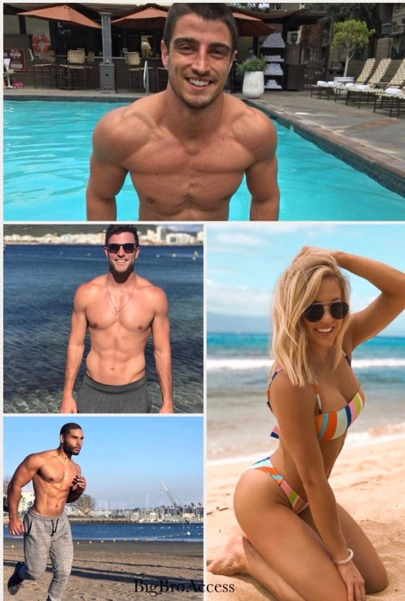 Big Brother Houseguests on Ex on the Beach