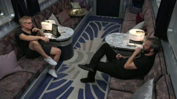 Celebrity Big Brother Kato Kaelin and Tom Green
