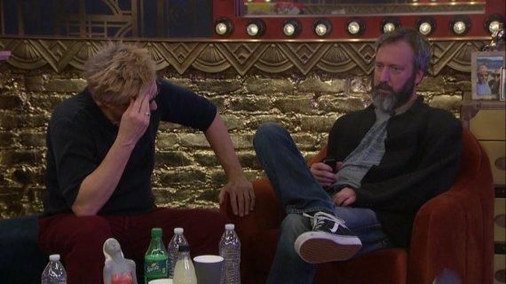 Celebrity Big Brother 2-Tom Green and Kato Kaelin