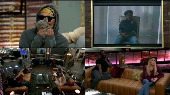 Celebrity Big Brother Houseguests get Videos from Home