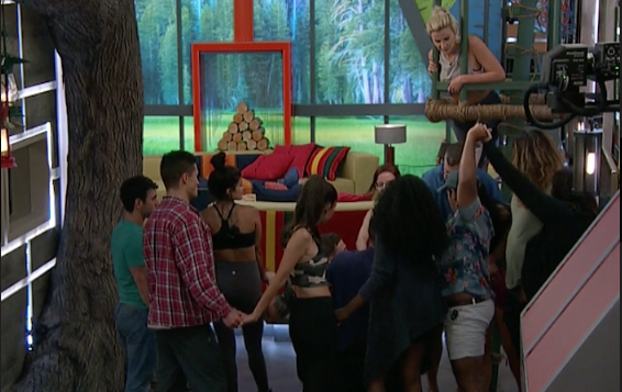 Big Brother 21 Live Feeds Highlights-Day 8: The House VS