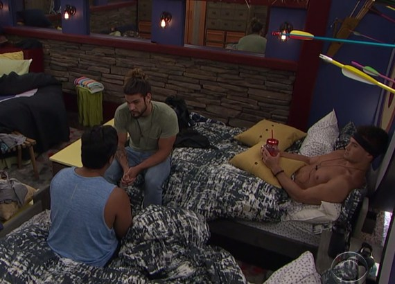Big Brother 21 Ovi Kabir, Jack Matthews, and Jackson Michie