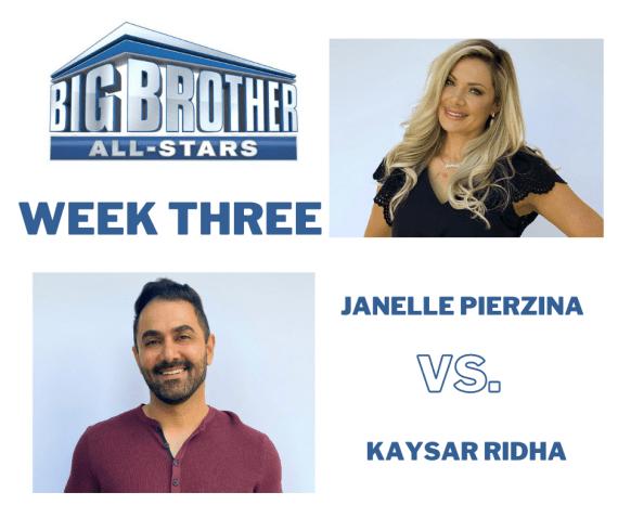 Big Brother All-Stars Janelle Kaysar