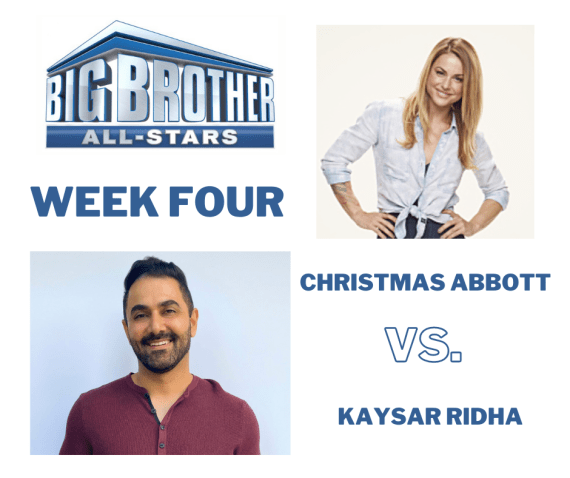 Big Brother All-Star Week Four Block