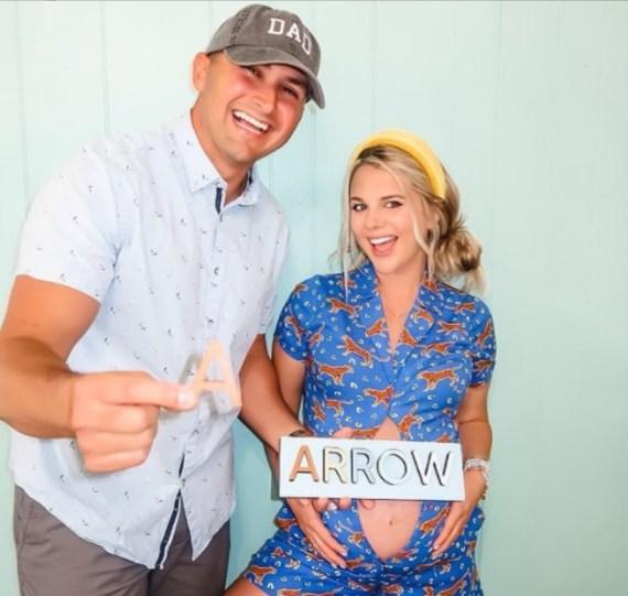 Nicole Franzel and Victor Arroyo Baby Arrow Arroyo