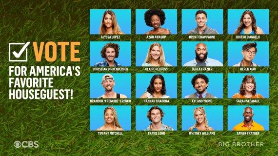 America's Favorite Houseguest Winner BB23, Big Brother 23