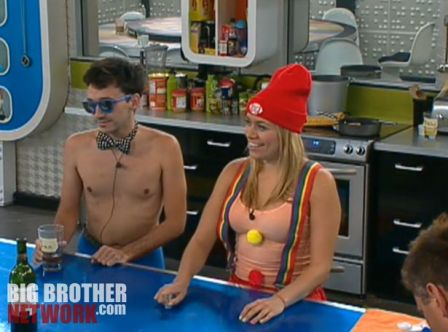 Big Brother 14 20120728 party - Ian and Ashley