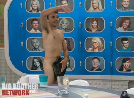 Big Brother 14 20120728 party - Ian streaking