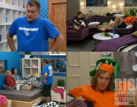 HGs after group meeting on Big Brother 14