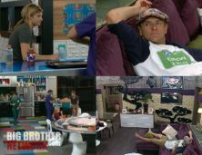 Big Brother 14 - Quad Cam after Veto