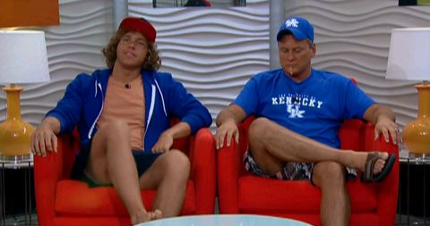 Big Brother 14 nominees Frank and Joe