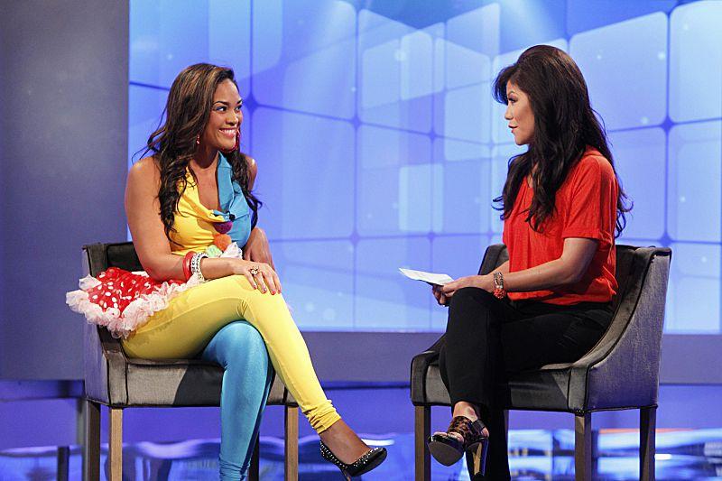 Candice talks to Julie Chen