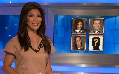 Julie Chen - Big Brother 15 episode 22