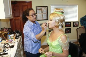 Julie Chen is Tinkerbell for Halloween