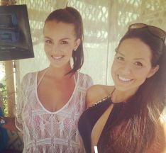 Brittany Martinez with Danielle Murphy