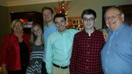 Ian Terry shares Christmas with family