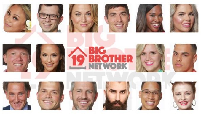 Big Brother 19 Houseguests