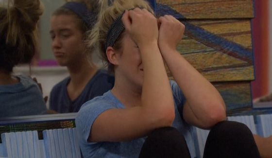 Morgan cries on BBOTT