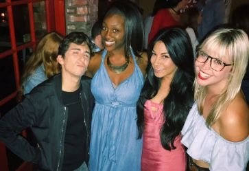 BB17 HGs hanging out at BB19 after party